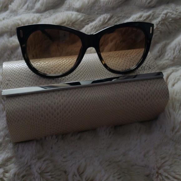 cbe3101a4ca Jimmy Choo Accessories - Jimmy Choo Ally Cat Eye Sunglasses Tortoise